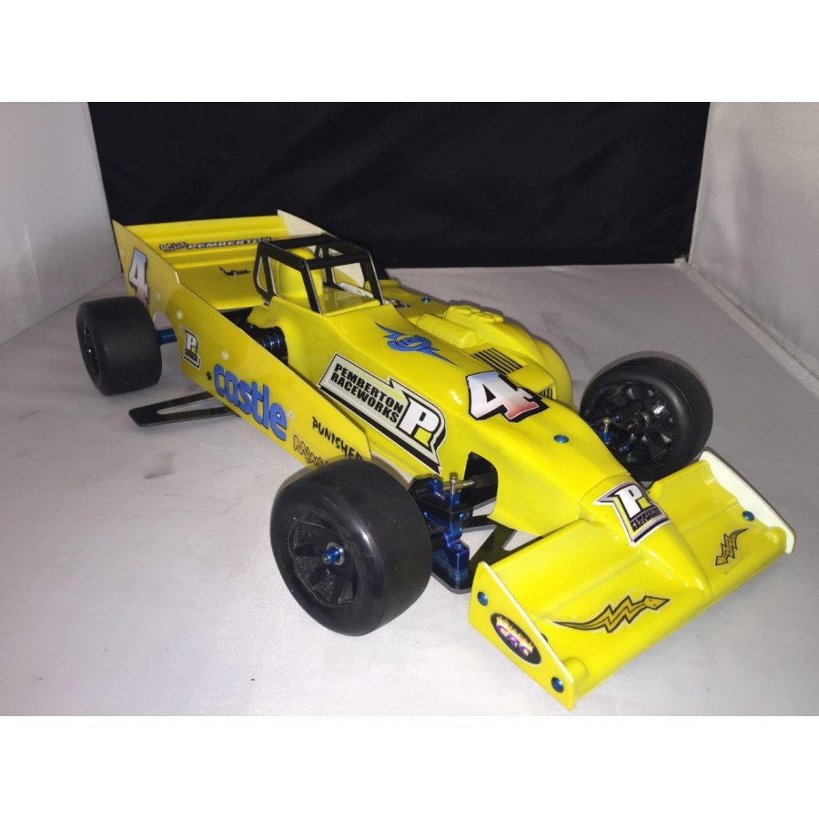 Full Super Mod Package Car Kit Oswego Body Isma Wing