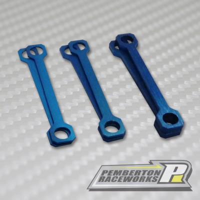 Shims Front End Shim Kit Blue(2 each .5mm, 1mm, 2mm)