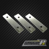Stainless Steel Weight Front (3-pack)
