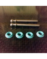 "COMBO - Turcite Spacers / Titanium ""B3 Style"" Kingpins"